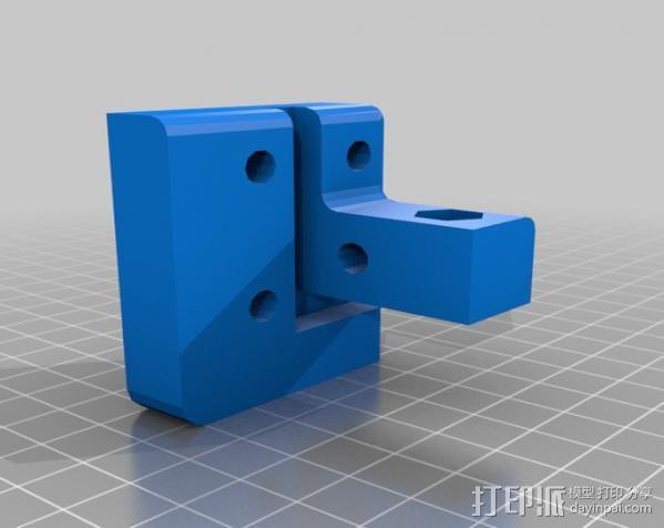 Makerbot Replicator打印机外罩 外框 3D模型  图13