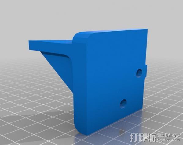 Makerbot Replicator打印机外罩 外框 3D模型  图15