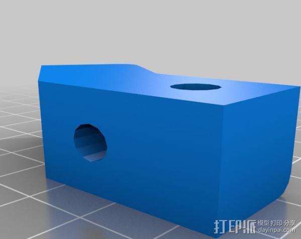 Makerbot Replicator打印机外罩 外框 3D模型  图14