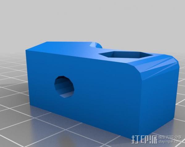 Makerbot Replicator打印机外罩 外框 3D模型  图16