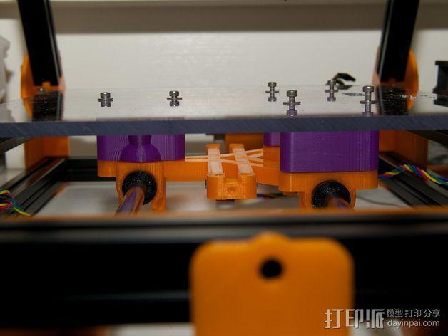 LM8/LM10直线轴承支架 3D模型  图10