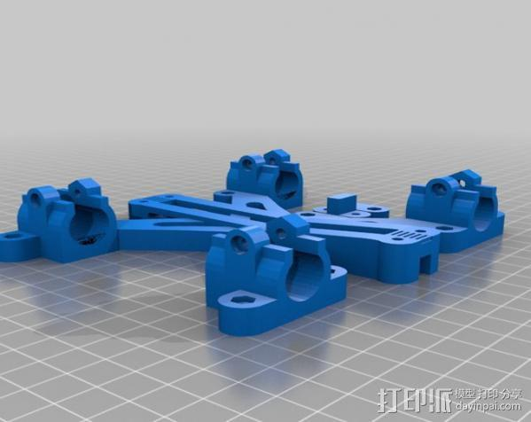 LM8/LM10直线轴承支架 3D模型  图13
