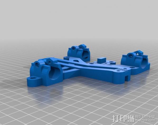 LM8/LM10直线轴承支架 3D模型  图14