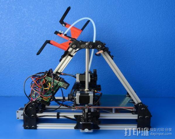 AO-100 3D打印机 3D模型  图2