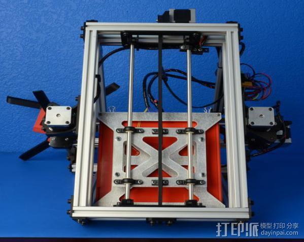 AO-100 3D打印机 3D模型  图4