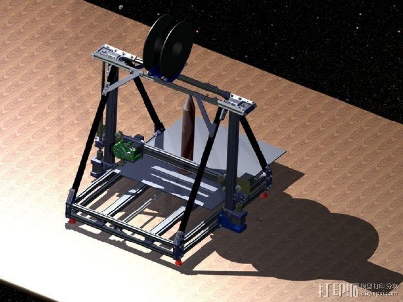 Reprap3D打印机 3D模型  图1