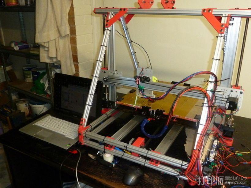 Reprap3D打印机 3D模型  图2