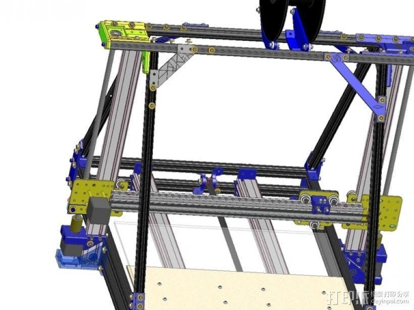 Reprap3D打印机 3D模型  图10