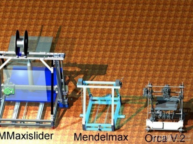 Reprap3D打印机 3D模型  图14
