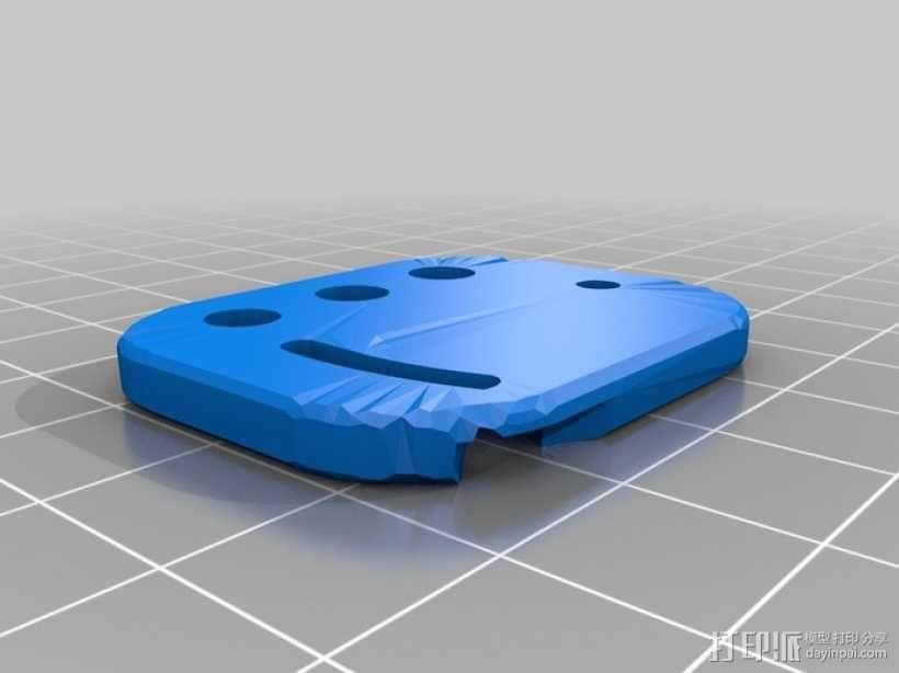 Reprap3D打印机 3D模型  图33