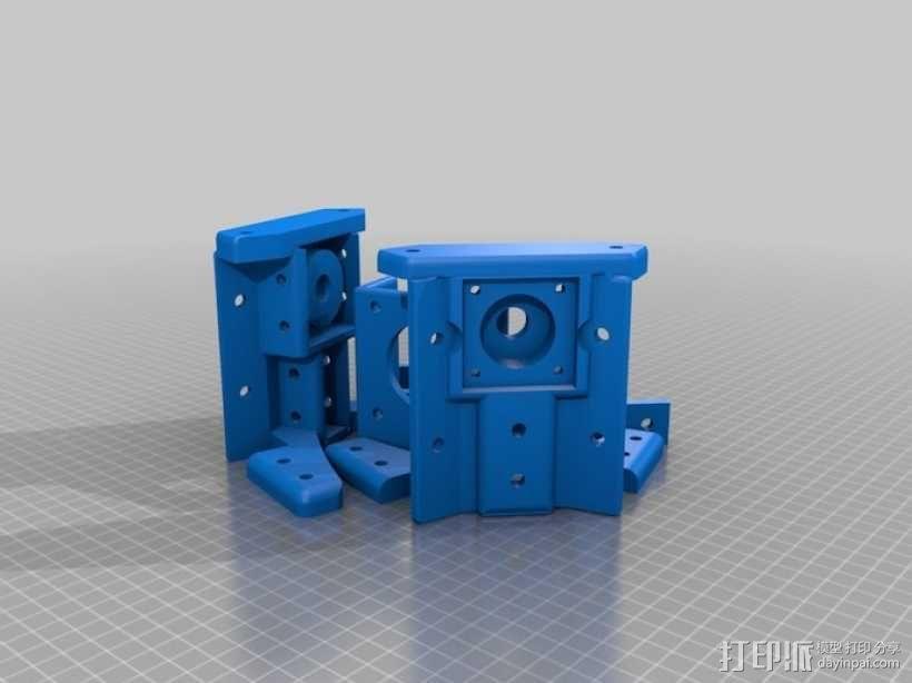 Reprap3D打印机 3D模型  图46