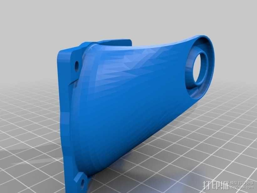 Ultimaker打印机风扇导管 3D模型  图2