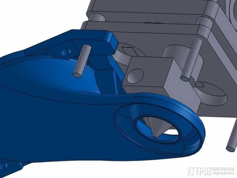 Ultimaker打印机风扇导管 3D模型  图4