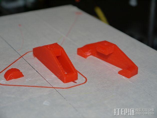 皮带张紧器 3D模型  图1