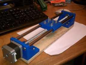 NEMA 17步进马达打印机轴 3D模型