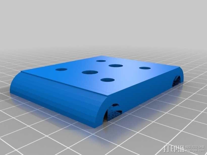 NEMA 17步进马达打印机轴 3D模型  图8