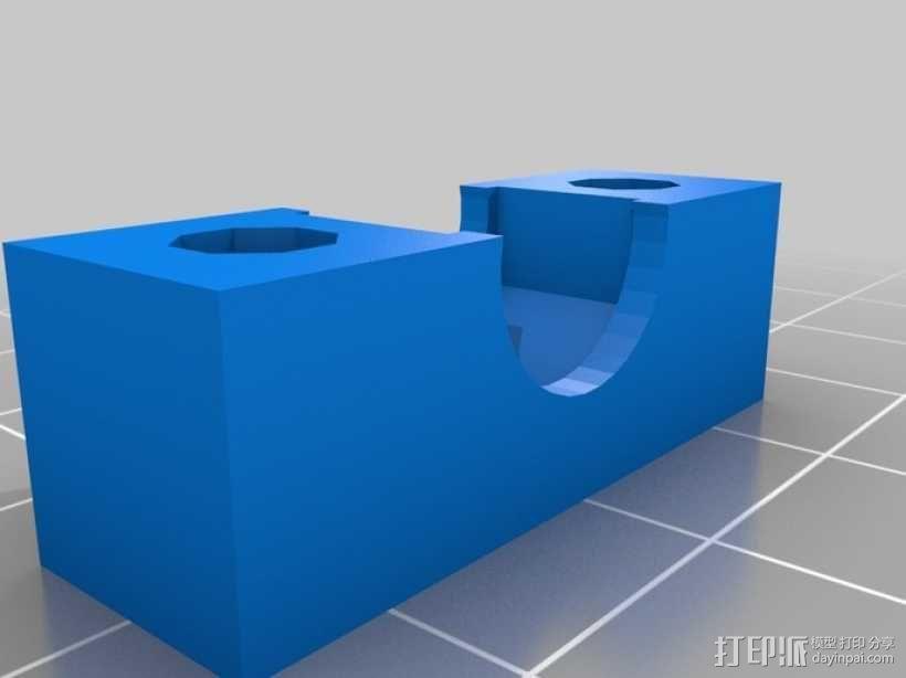 NEMA 17步进马达打印机轴 3D模型  图9