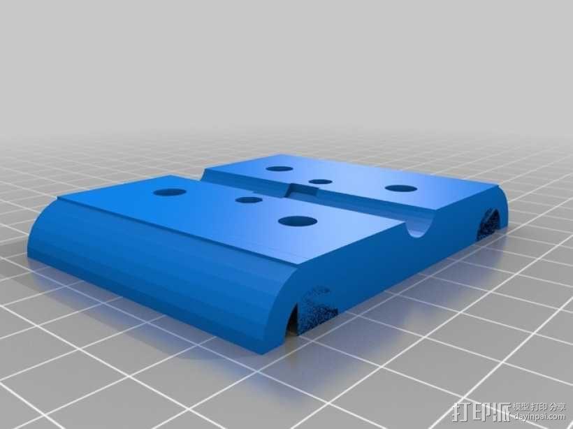 NEMA 17步进马达打印机轴 3D模型  图10