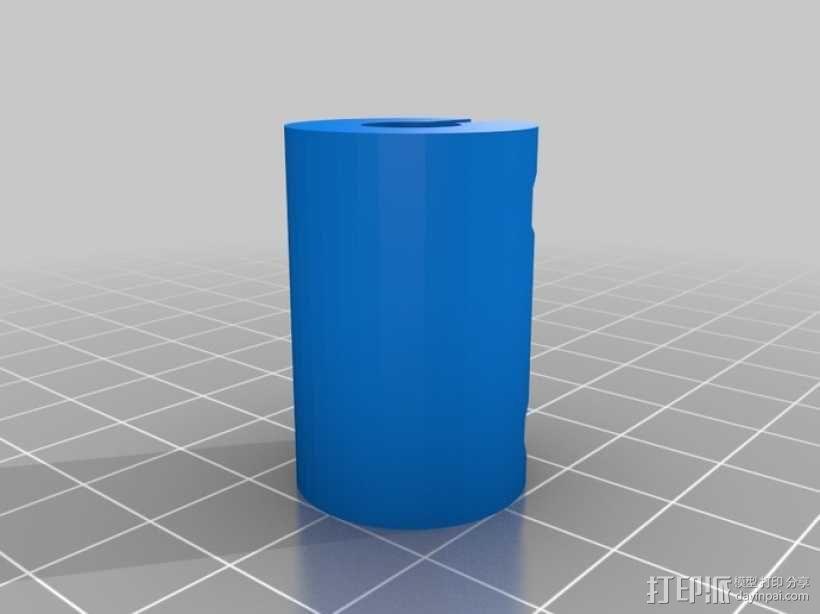 NEMA 17步进马达打印机轴 3D模型  图11