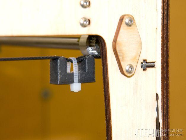 Ultimaker打印机皮带张紧器 3D模型  图3