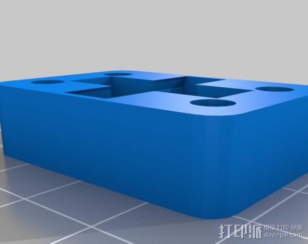 Shapercube打印机部件 3D模型  图4