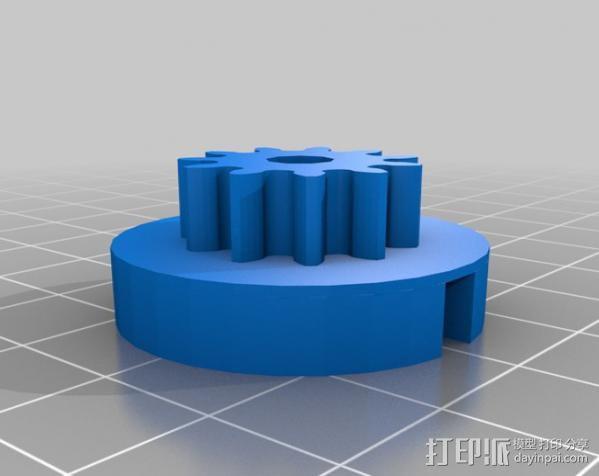 Shapercube打印机部件 3D模型  图8