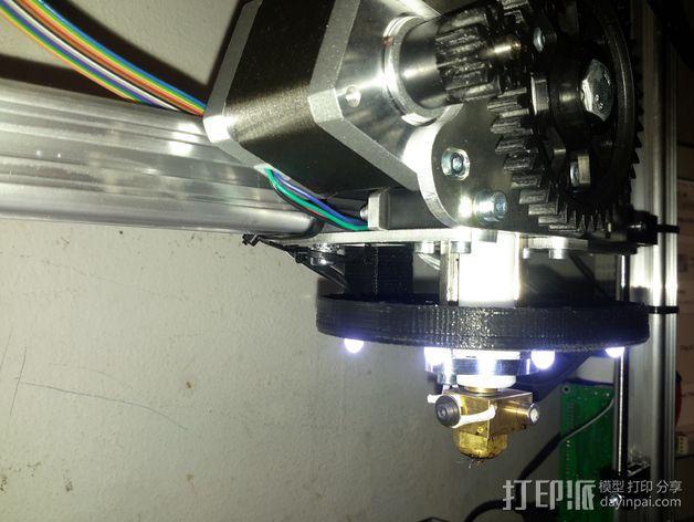 LED灯支架 3D模型  图3
