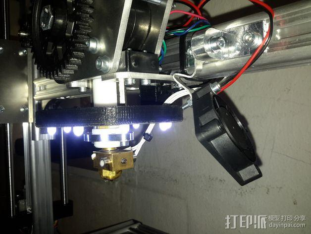 LED灯支架 3D模型  图5