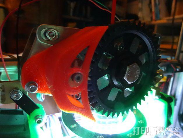 齿轮保护器 3D模型  图1