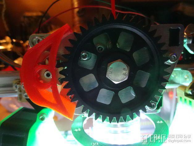齿轮保护器 3D模型  图3
