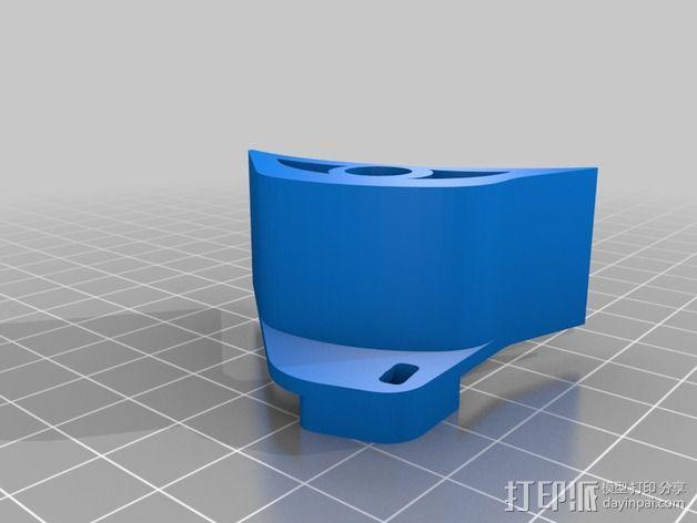 齿轮保护器 3D模型  图2