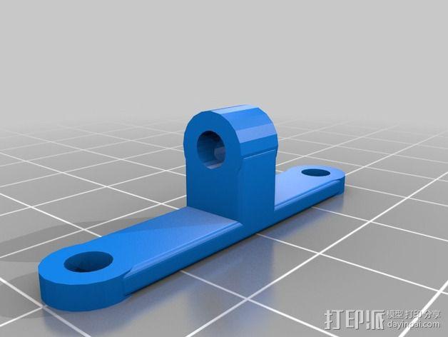 可旋转风扇支架 3D模型  图4