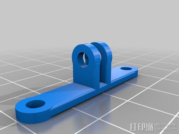 可旋转风扇支架 3D模型  图3