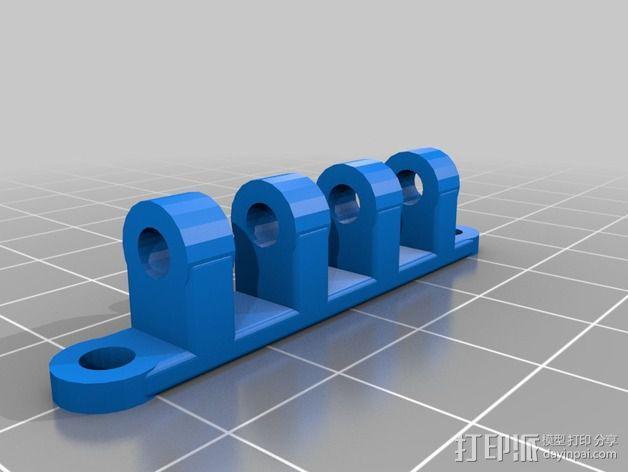 可旋转风扇支架 3D模型  图5