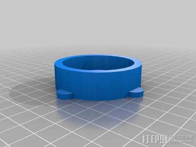 PrintrBot Simple打印机线轴架 3D模型  图6