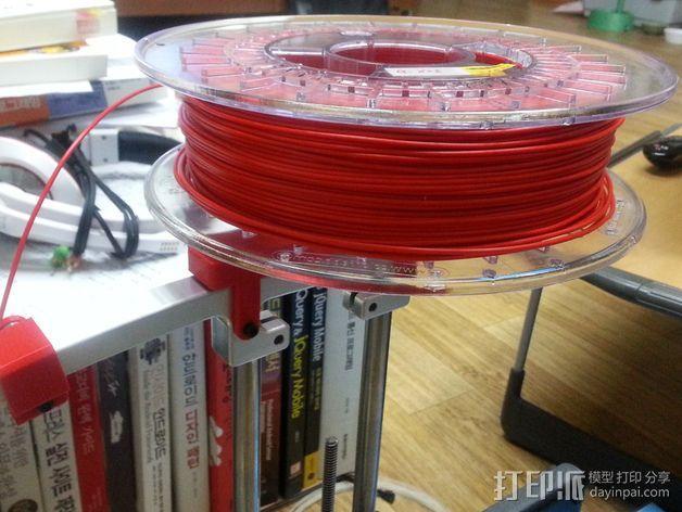 PrintrBot Simple打印机线轴架 3D模型  图10