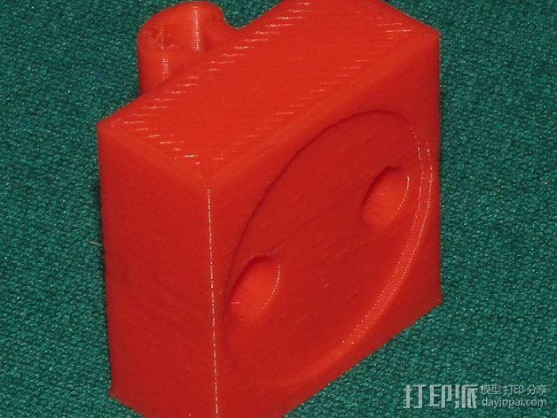 可弯曲台灯底座 3D模型  图4