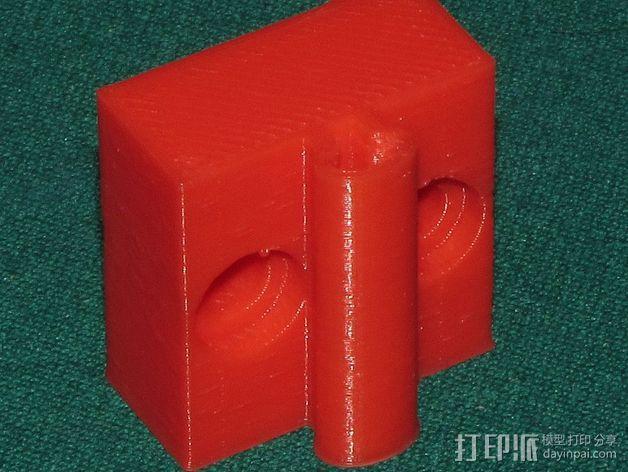 可弯曲台灯底座 3D模型  图5