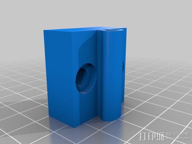 可弯曲台灯底座 3D模型  图6