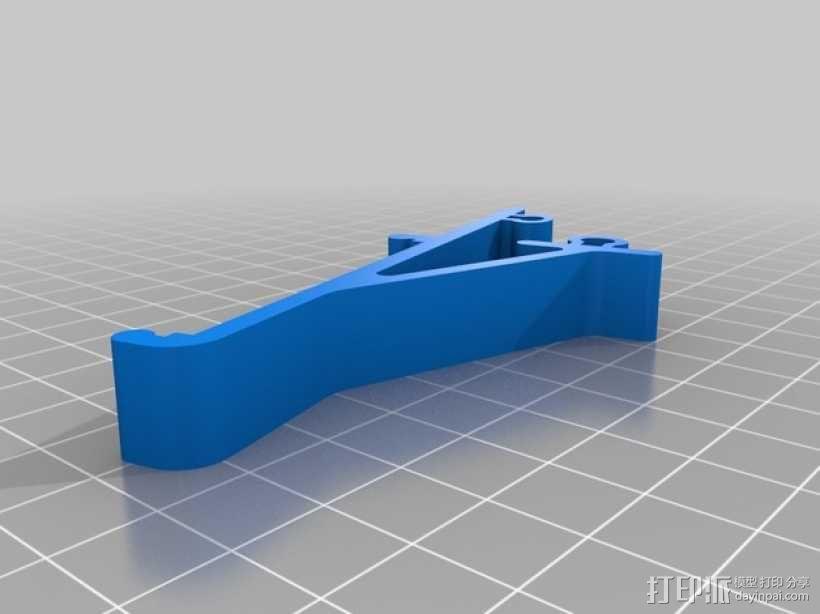 电路主板安装夹 固定夹  3D模型  图4