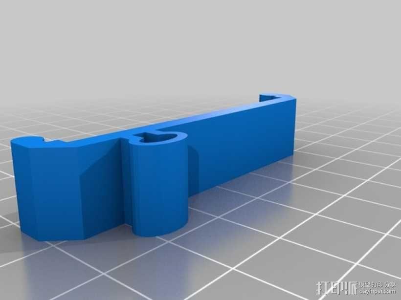 电路主板安装夹 固定夹  3D模型  图6
