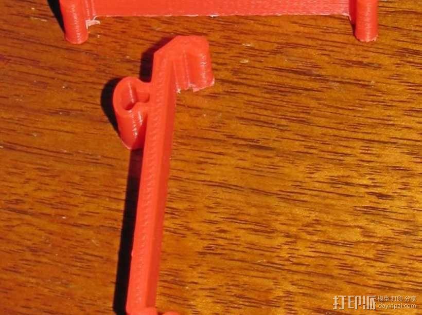 电路主板安装夹 固定夹  3D模型  图5
