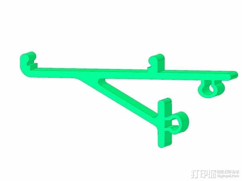 电路主板安装夹 固定夹  3D模型  图9