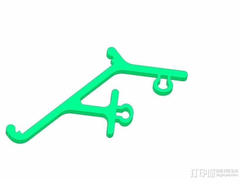 电路主板安装夹 固定夹  3D模型  图10
