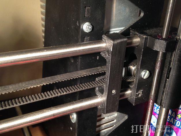 打印机Y轴正时皮带和滑轮 3D模型  图4