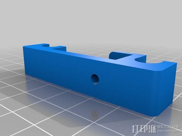 打印机Y轴正时皮带和滑轮 3D模型  图2