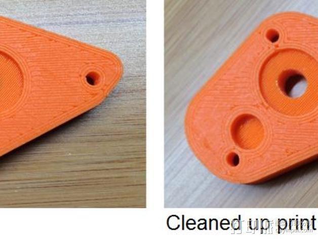 打印机Z轴连杆盖 3D模型  图5