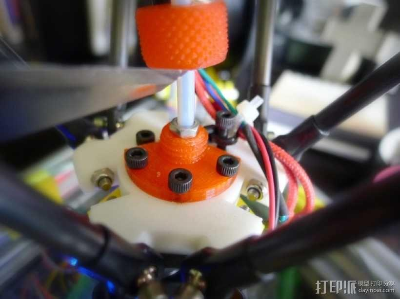 鲍登管支架 3D模型  图1