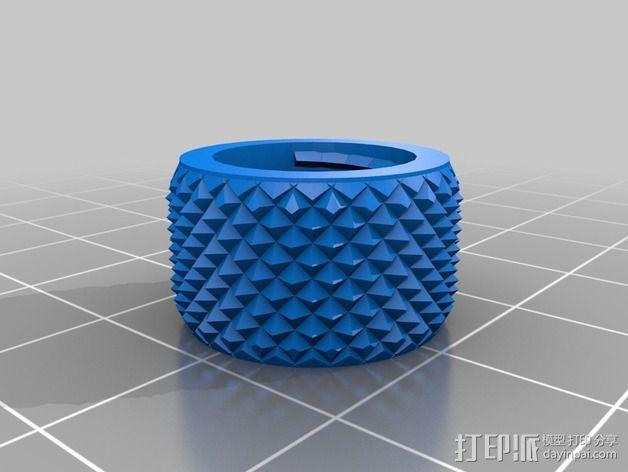 鲍登管支架 3D模型  图2