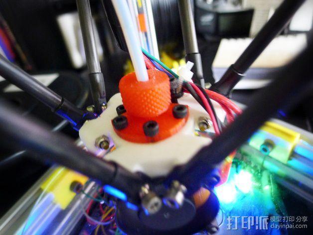 鲍登管支架 3D模型  图4